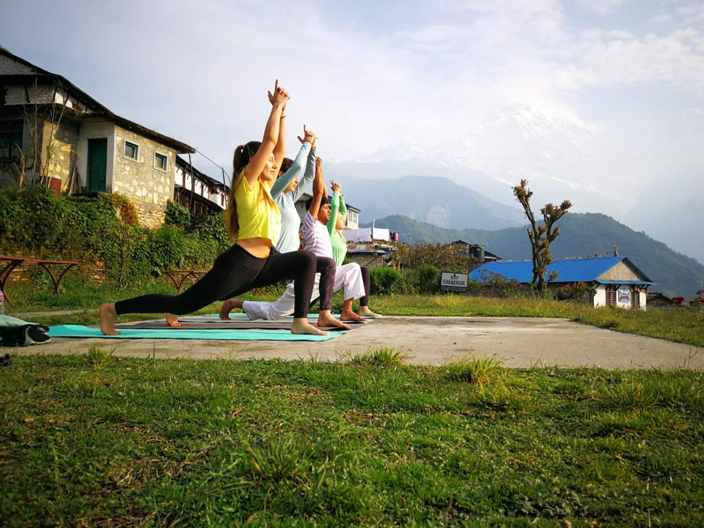 Yoga Trekking to Australian Camp